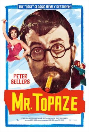 mr topaze / i love money - movie poster one sheet