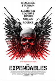 the expendables one sheet