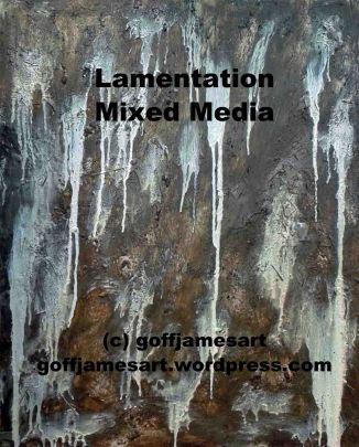 G. James, Lamentation, 2017, Mixed Media