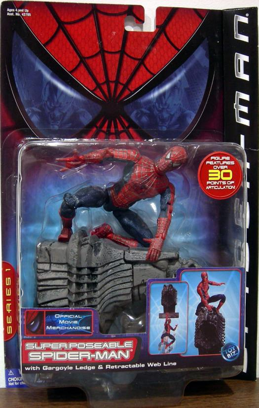 Super Poseable Spider Man : super, poseable, spider, Super, Poseable, Spider-Man, Movie, Action, Figure