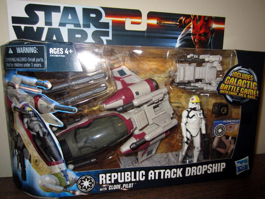 Star Wars Clone Pilot Action Figures