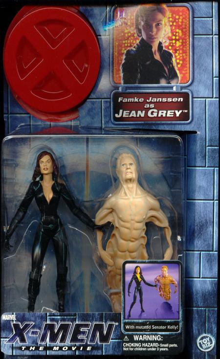 Jean Grey X Men Movie Hair Down Action Figure
