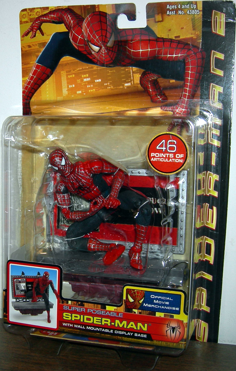 Super Poseable Spider Man : super, poseable, spider, Spider, Super, Poseable, Action, Figure