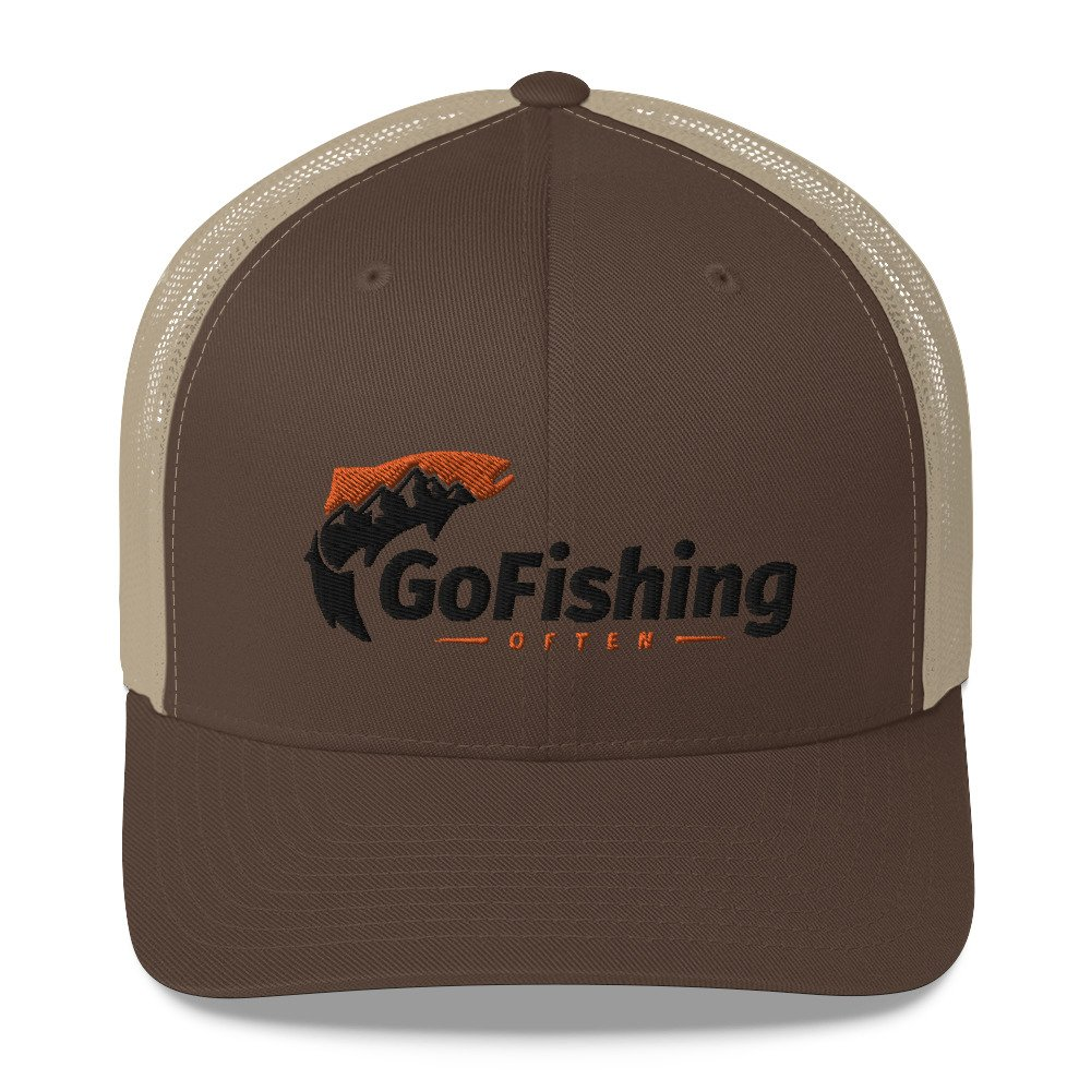 Go Fishing Often Trucker: Mid-Profile