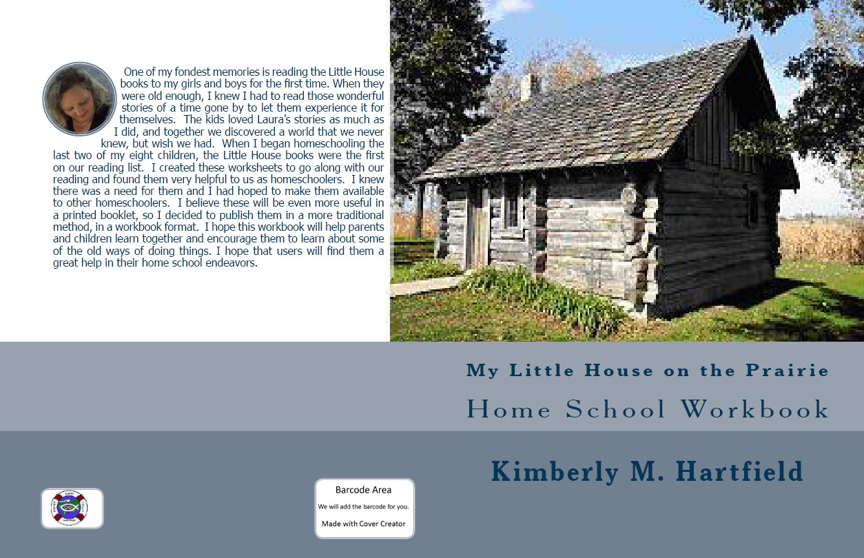 My Little House On The Prairie Home School Workbook