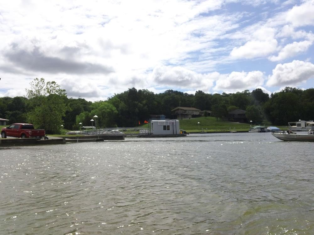 Rocky Fork Lake Fishing Map Southwest Ohio Go Fish Ohio