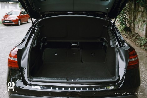 2018 Mercedes-Benz GLA 180 Urban Trunk Space