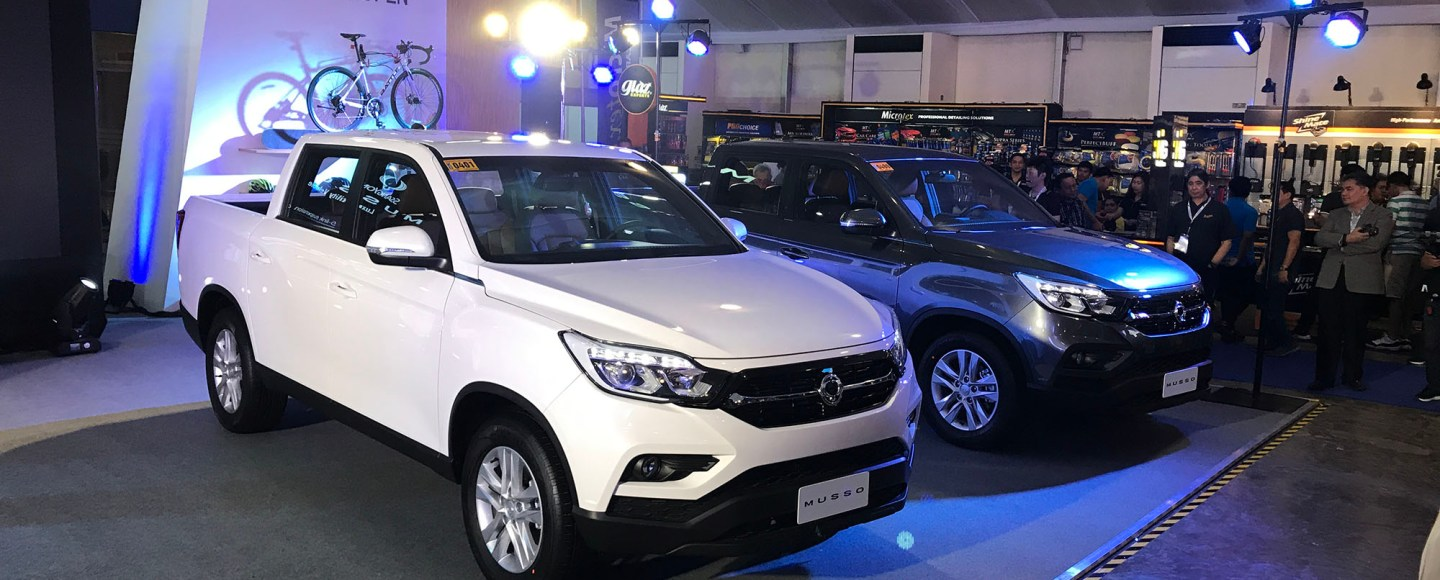 SsangYong Musso Philippine International Motor Show