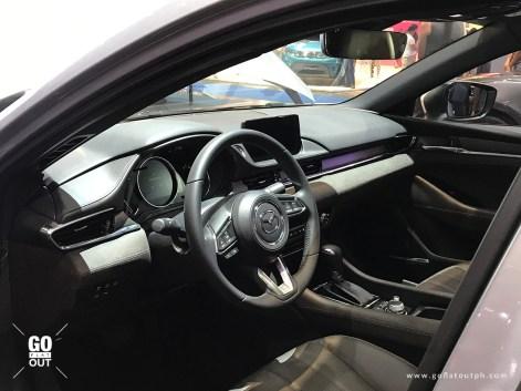 2019 Mazda 6 Sedan Interior