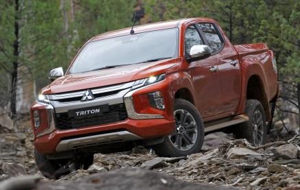 2019 Mitsubishi Triton Exterior
