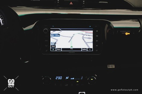 2018 Toyota Hilux Conquest Infotainment