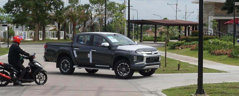 2019 Mitsubishi Strada Philippine Spy Shots
