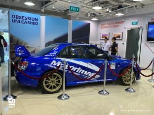 Subaru Leng Kee Showroom STI Corner