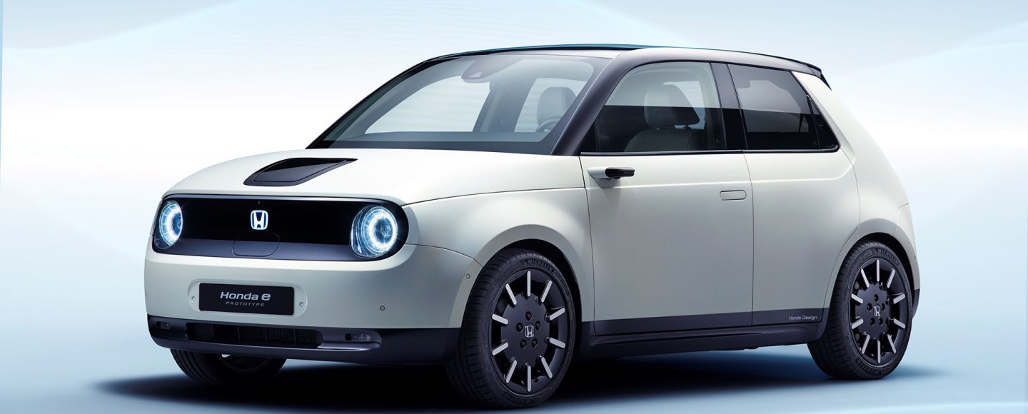 The Honda e Prototype Is A RWD Electric City Car Designed Primarily For Europe