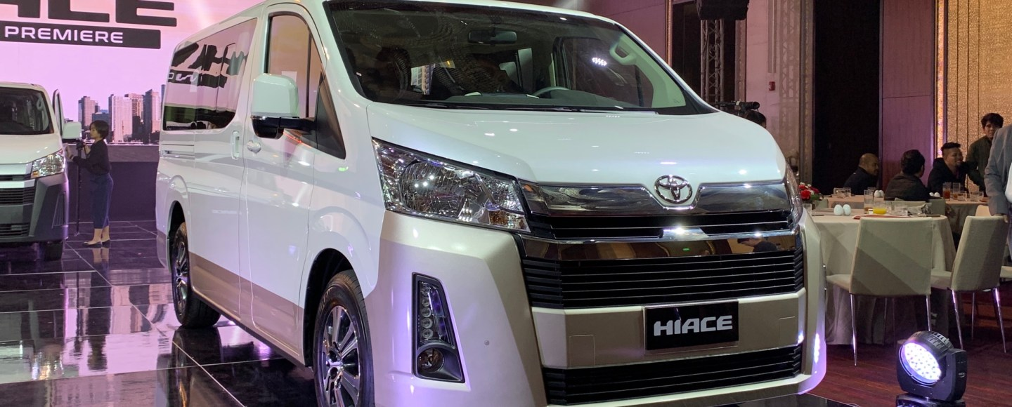 2020 Toyota Hiace Celebrates Its World Premiere In Manila With P1.590M Starting Price