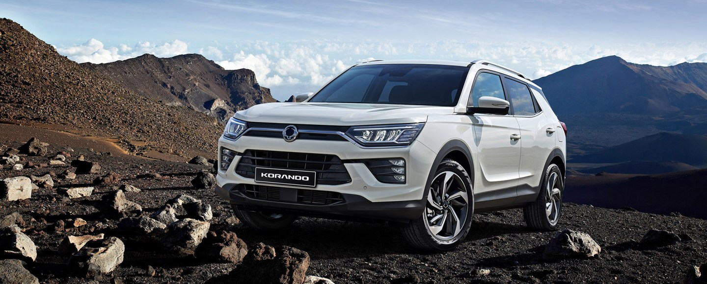 2020 SsangYong Korando Dresses Sharply, Electric Version Coming Next Year