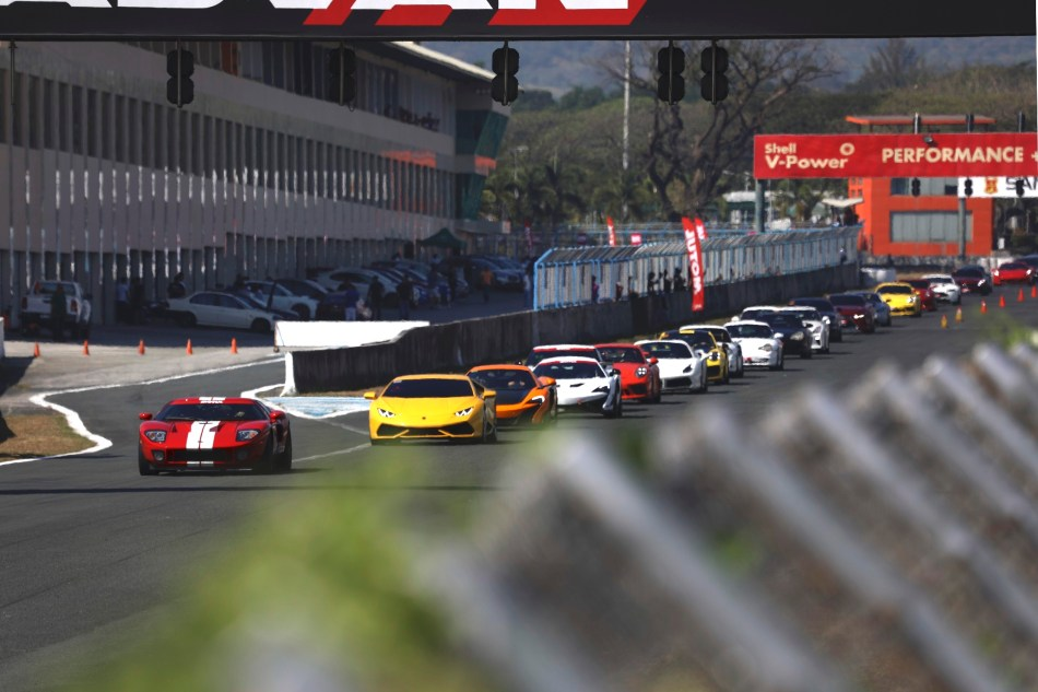 Motul 300V Superfast Trackday Starting Grid