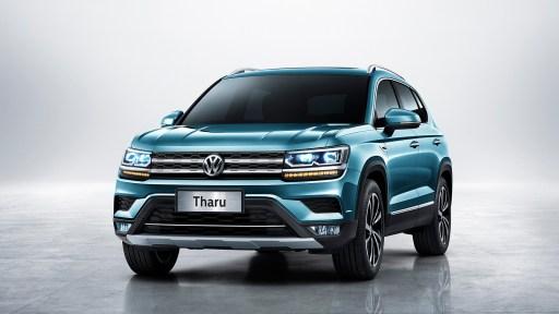 2019 Volkswagen Tharu Exterior