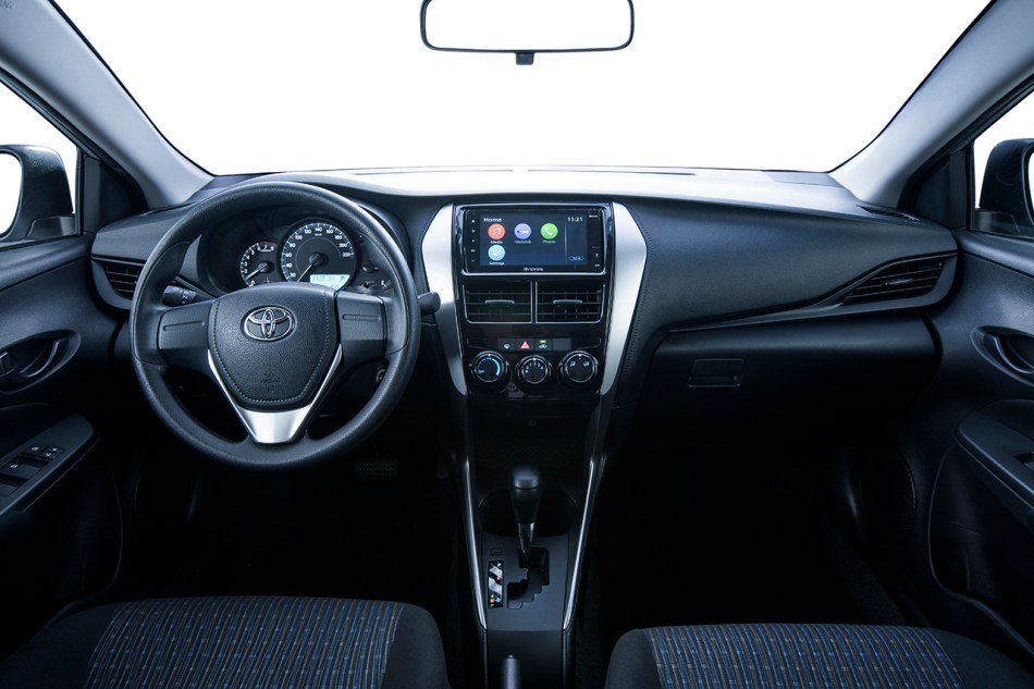 2019 Toyota Vios XE Interior
