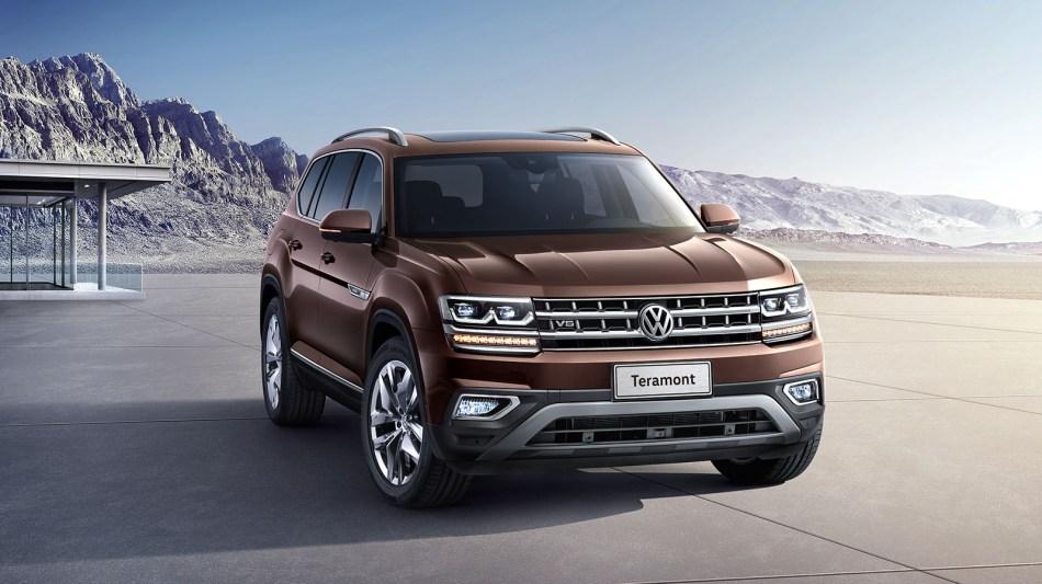 2019 Volkswagen Teramont Exterior
