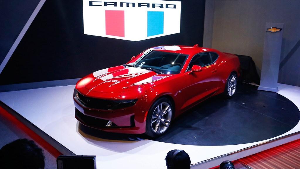 2019 Chevrolet Camaro 3LT RS Exterior