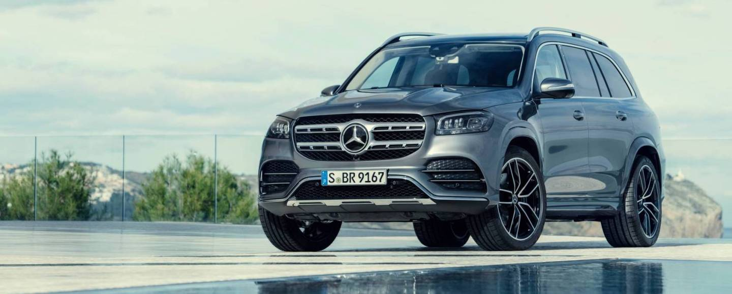 The Mercedes-Benz GLS Is Pure SUV Opulence For Seven People