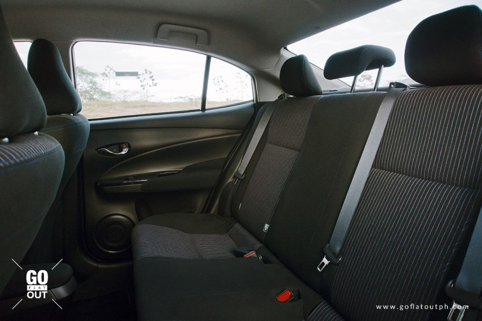 2019 Toyota Vios 1.5 G Rear Seats