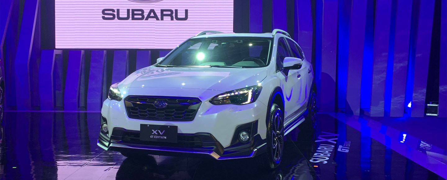 2019 MIAS: Subaru XV GT Edition Was Penned By The WRX STI's Chief Designer