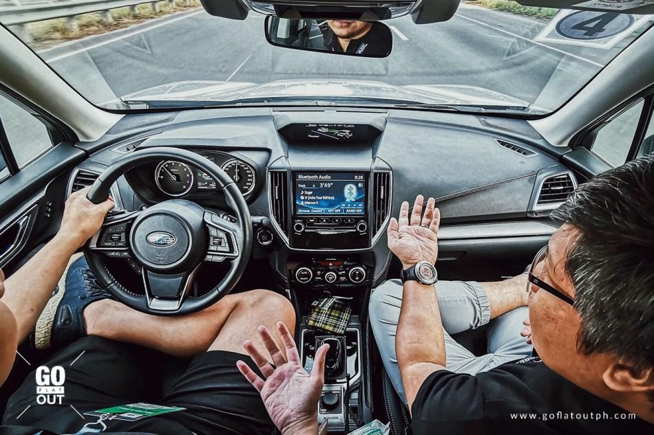 Subaru EyeSight On A Highway