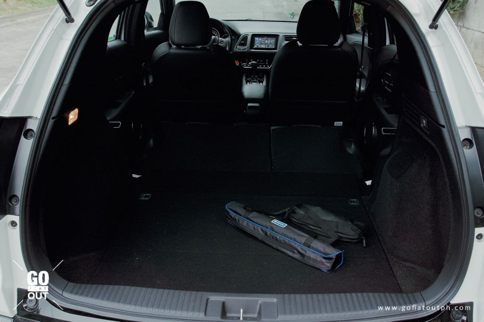 2019 Honda HR-V 1.8 RS Trunk Space