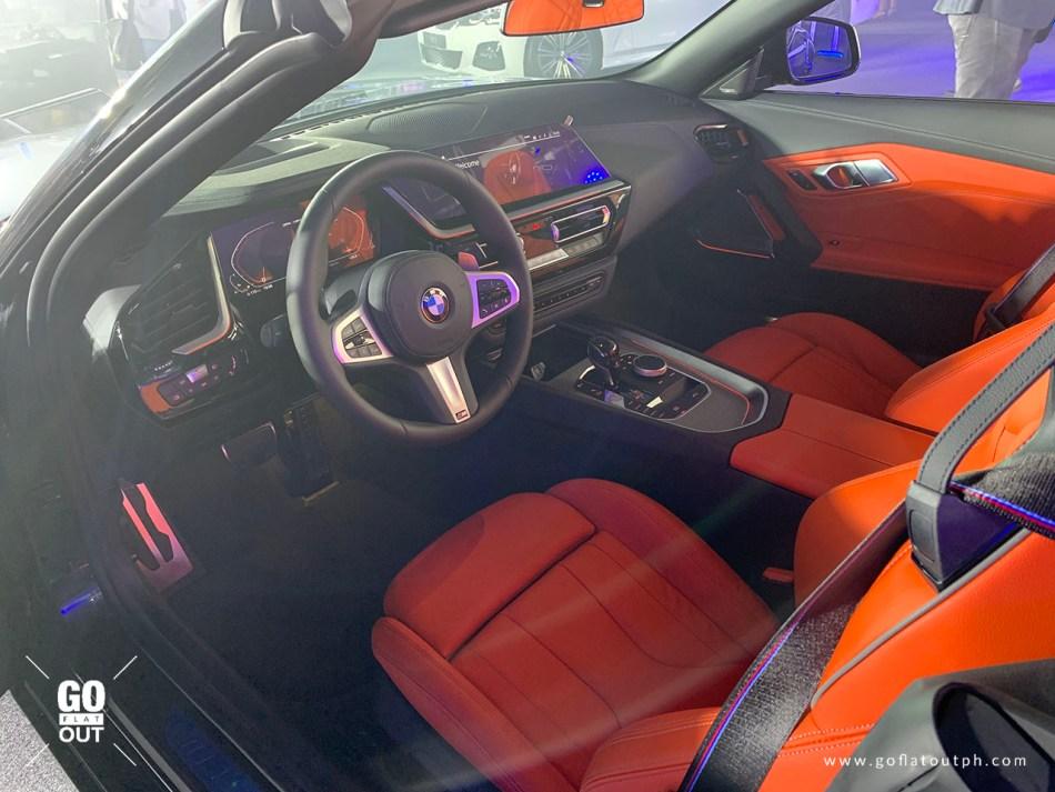 2019 BMW Z4 M40i Philippines Interior