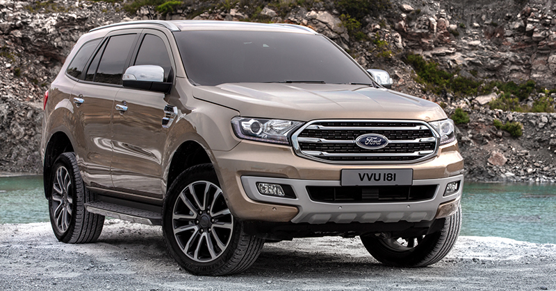 2019 Ford Everest Titanium 2.0 Bi-Turbo 4x4 Exterior
