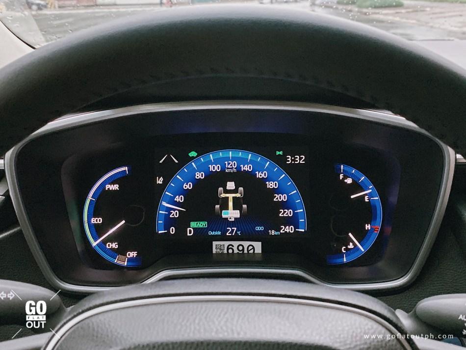2020 Toyota Corolla Altis 1.8 V Hybrid Interior