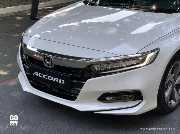 2020 Honda Accord EL Turbo CVT Honda Sensing Front End