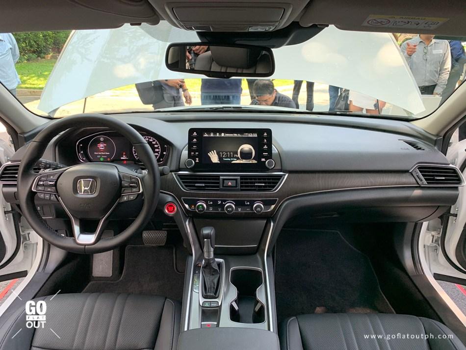 2020 Honda Accord EL Turbo CVT Honda Sensing Interior Front