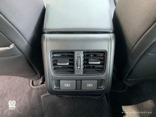 2020 Honda Accord EL Turbo CVT Honda Sensing Rear USB Ports