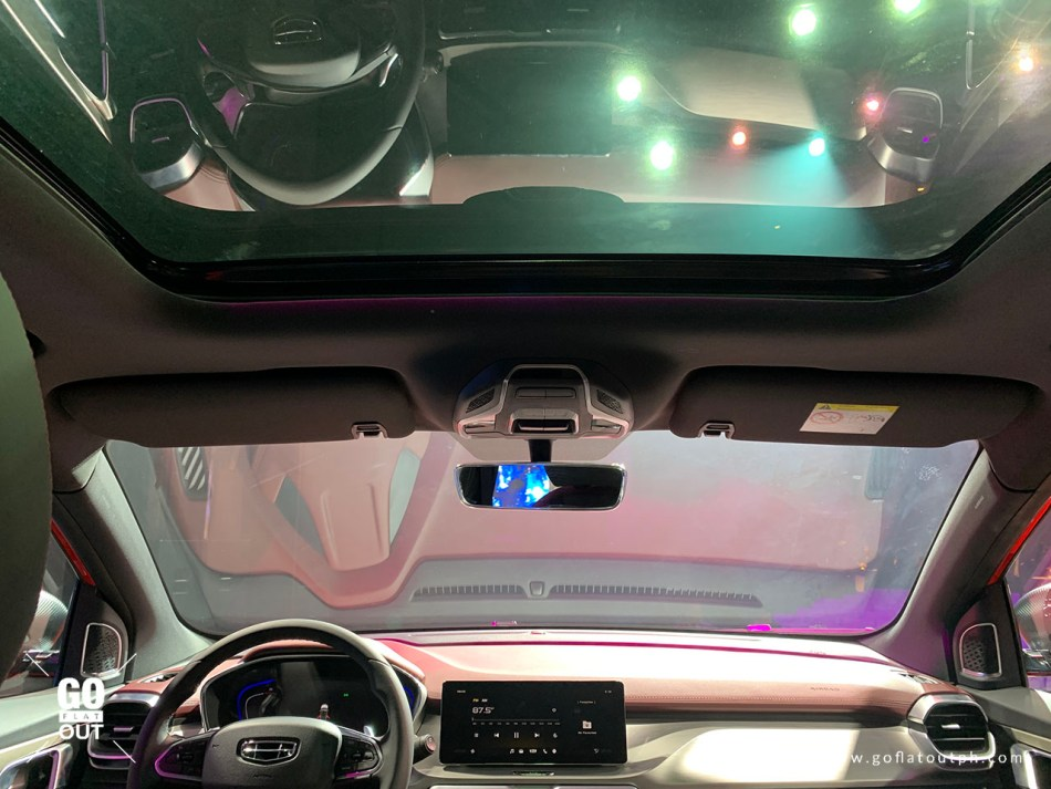 2020 Geely Coolray Interior