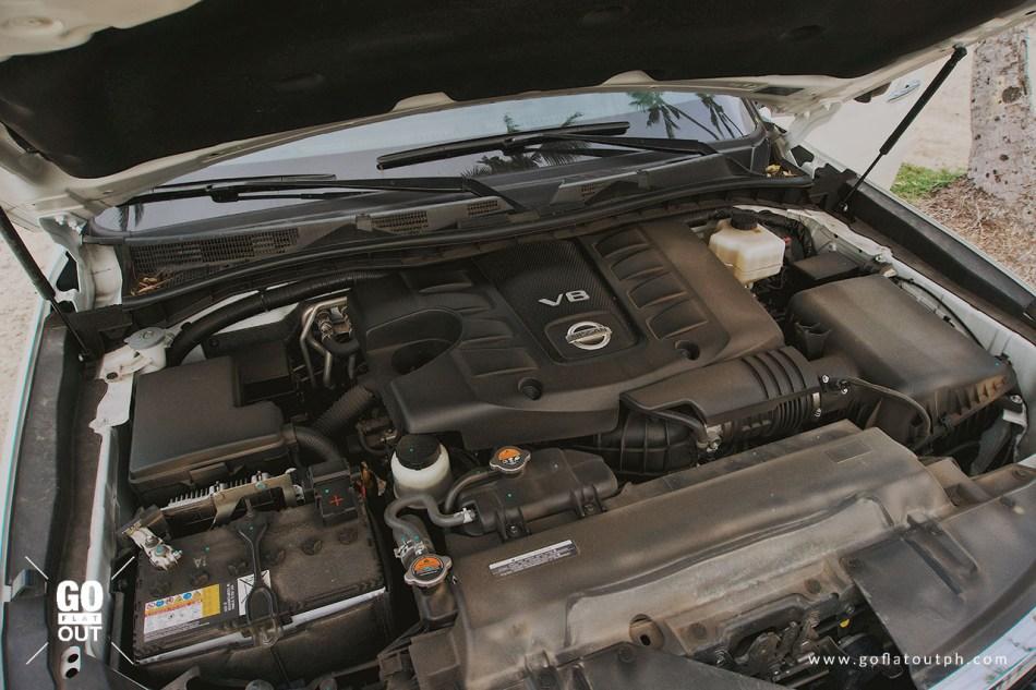 2019 Nissan Patrol Royale V8 Engine