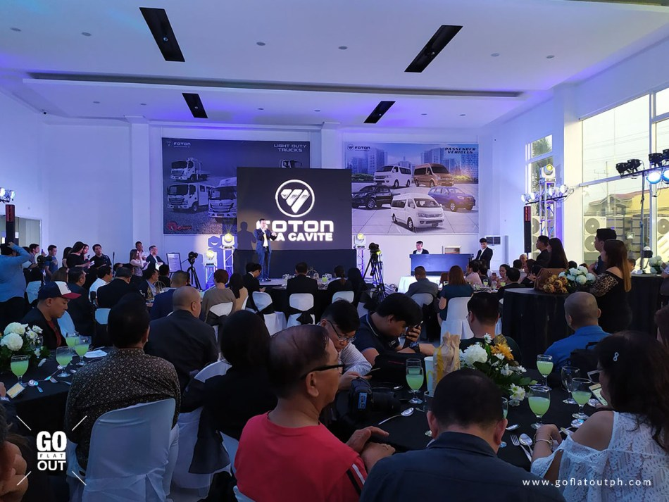 Foton Philippines Relaunches GMA Cavite Showroom