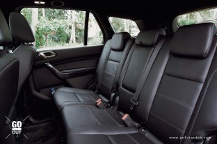 2020 Ford Everest Titanium 4x4 Bi-Turbo Rear Seats