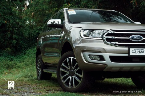 2020 Ford Everest Titanium 4x4 Bi-Turbo Exterior