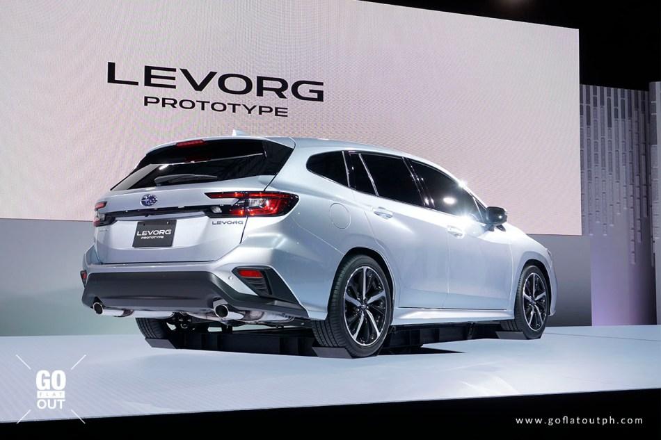 2020 Subaru Levorg Prototype