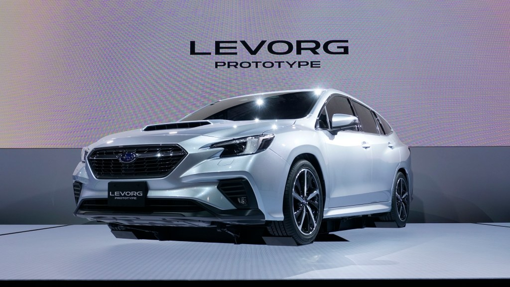 TMS 2019: All-New Subaru Levorg Makes Global Debut As A Pre-Production Prototype