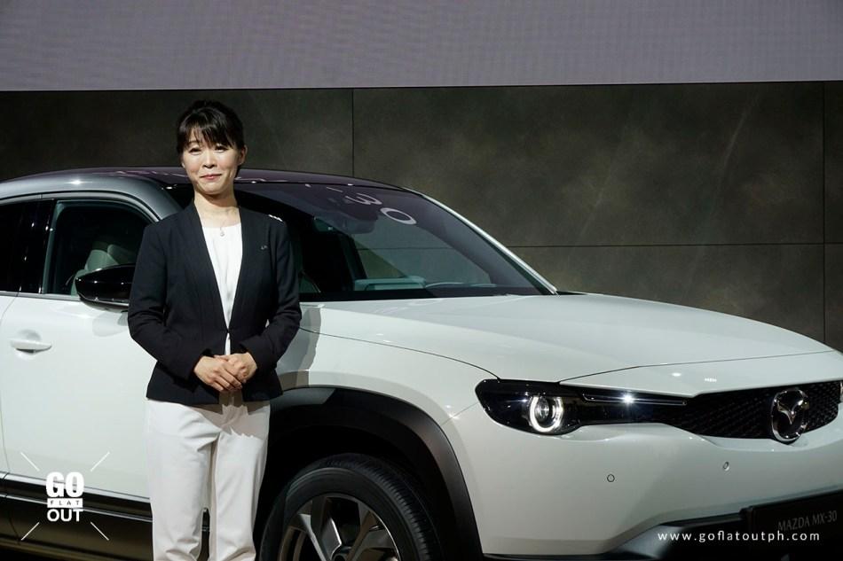 Tomiko Takeuchi, Mazda MX-30 Program Manager