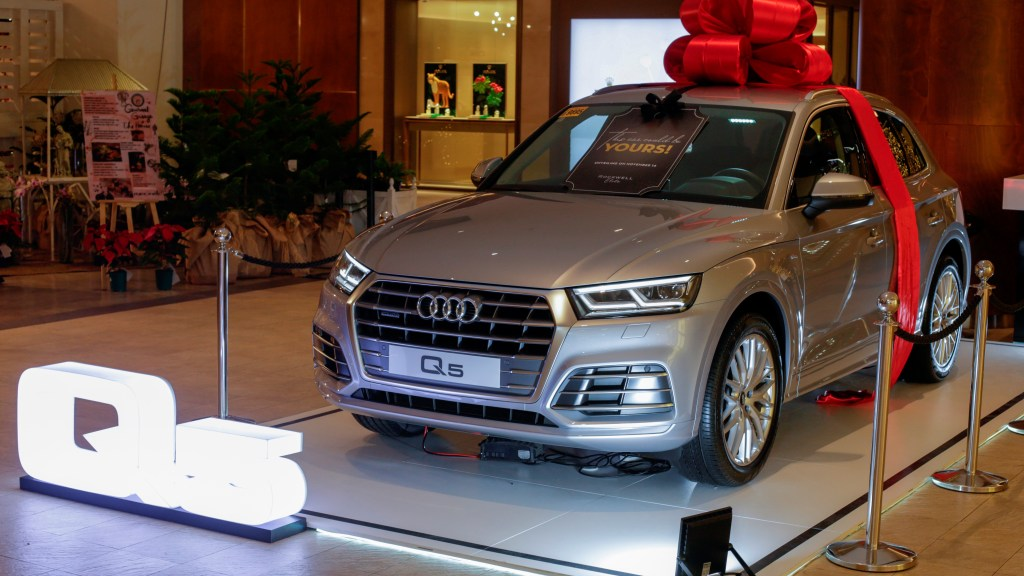 Audi PH Is Giving Away Three Cars This Christmas