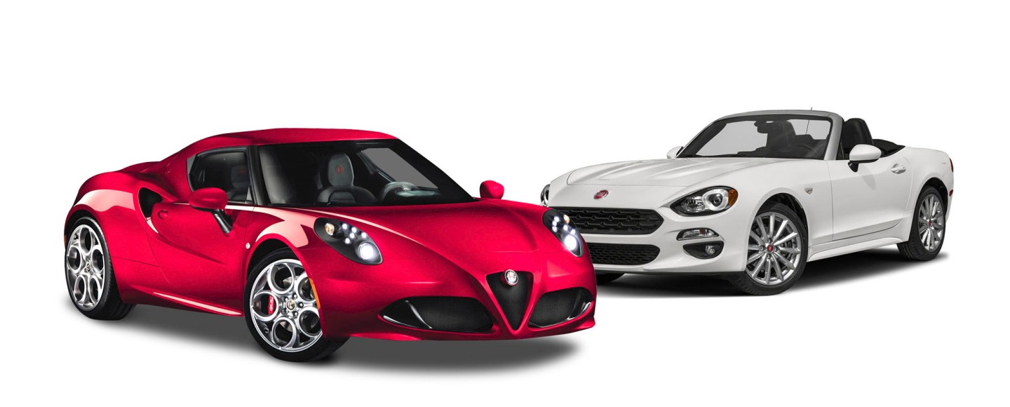 Alfa Romeo 4C Spider And Fiat 124 Spider Now On Sale In PH