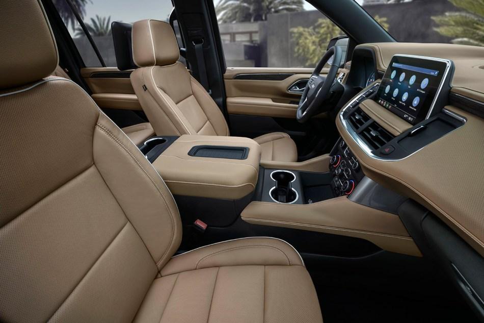 2021 Chevrolet Suburban High Country Interior