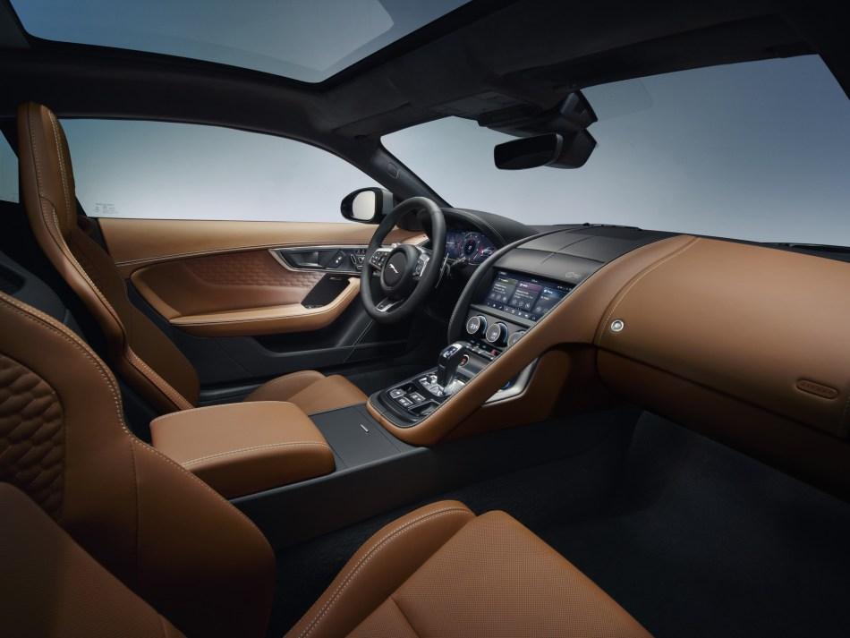 2021 Jaguar F-Type R Interior