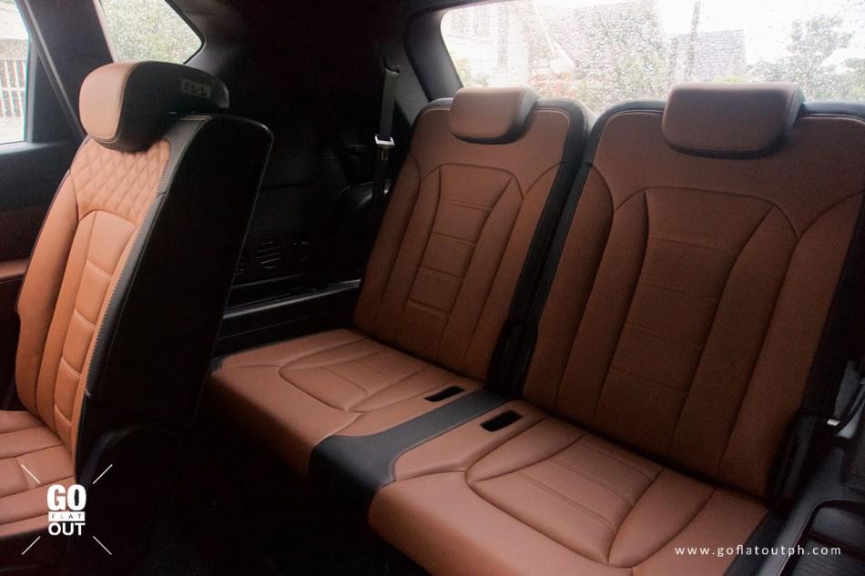2020 SsangYong Rexton 4x4 Third Row Seats