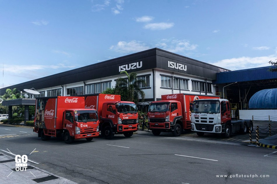 Coca-Cola and Isuzu Turn-Over Ceremony